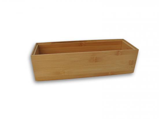 Bamboo Stackable Storage Box