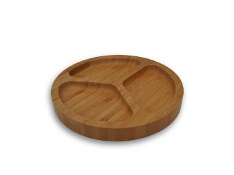 Bamboo food tray